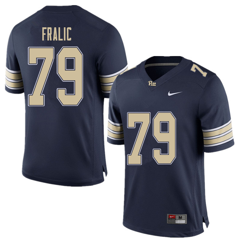 buy online aed64 7e1ea Men #79 Bill Fralic Pittsburgh Panthers College Football ...