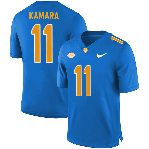 Men #11 Bangally Kamara Pitt Panthers College Football Jerseys Sale-Royal